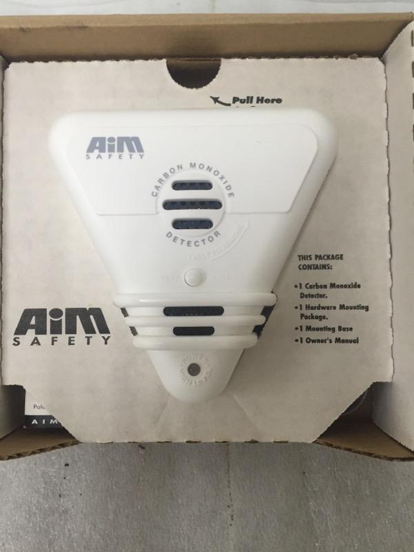 AIM SAFETY Miscellaneous Appliances CARBON MONOXIDE DETECTOR