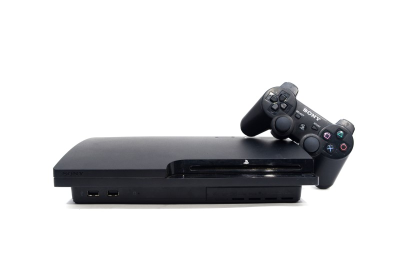 Sony Playstation 3 PS3 Slim 320GB CECH-3001B Black Console Bundle *