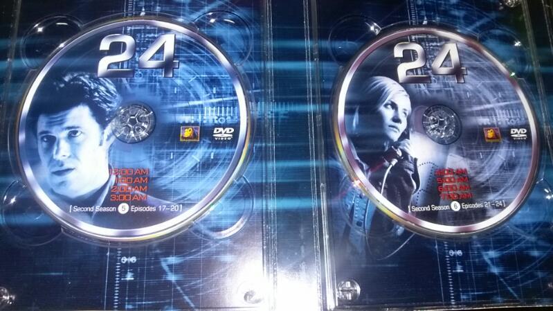 24 SEASON 2 - 7 DISC DVD SET