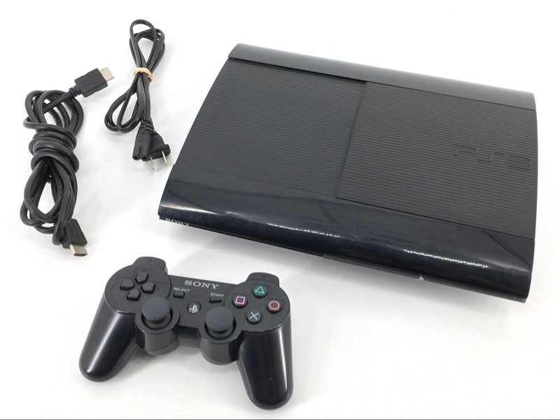 Sony PlayStation 3 Slim 500GB, Black - Model# CECH-4301C