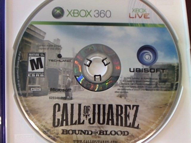 XBOX 360 CALL OF JUAREZ BOUND IN BLOOD