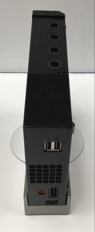 NINTENDO WII CONSOLE RVL-001 CONSOLE (BLACK, GAMECUBE COMPATIBLE_