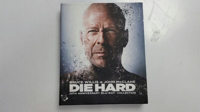 Die Hard 25th Anniversary Blu-ray Collection (Blu-ray Box Set, 2013)
