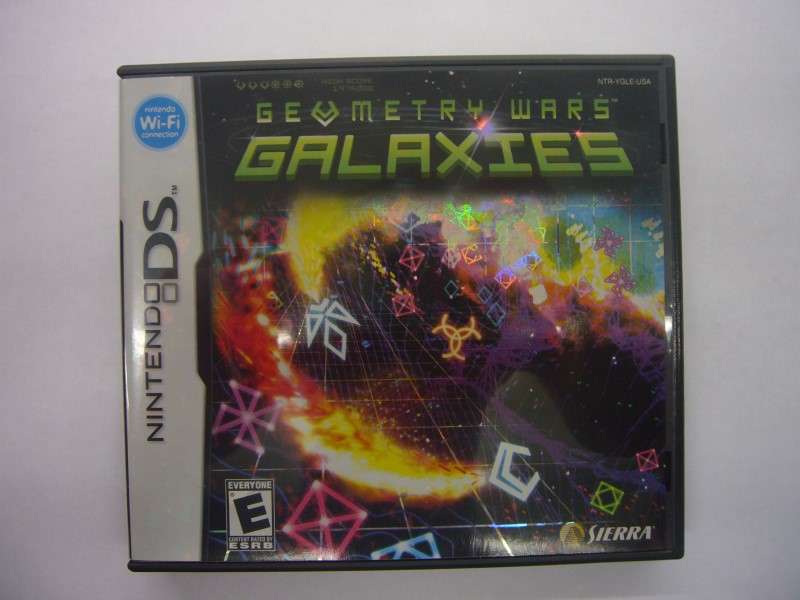 NINTENDO DS Game GEOMETRY WARS GALAXIES