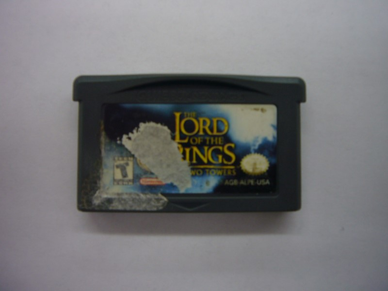 NINTENDO GBA Game LORD OF THE RINGS THE TWO TOWERS *CARTRIDGE ONLY*
