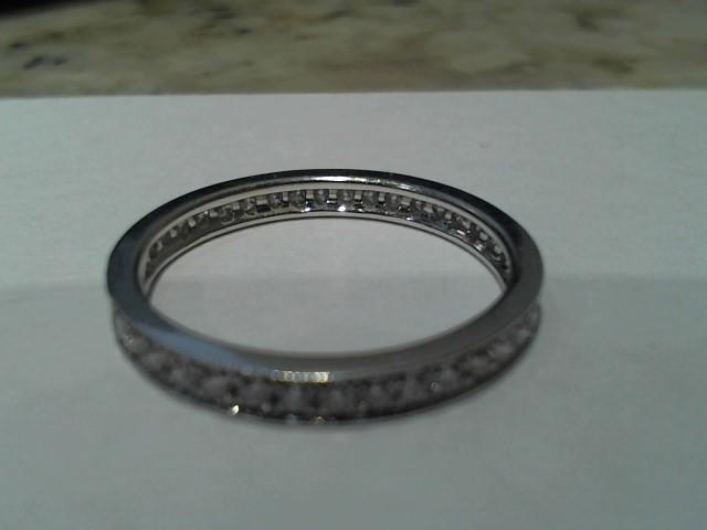 Lady's Gold Ring 18K White Gold 2g