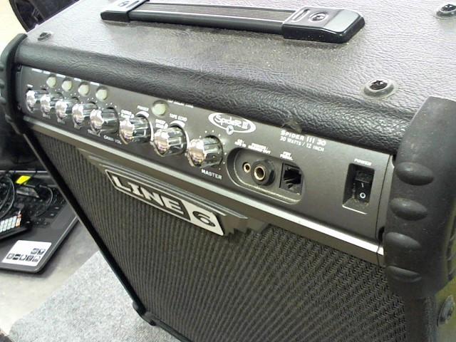 LINE 6 Electric Guitar Amp SPIDER 3 AMP