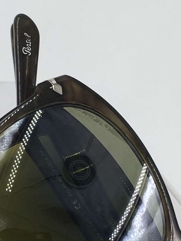 "Persol 714 Havana ""Steve McQueen"" Folding Aviator Sunglasses"