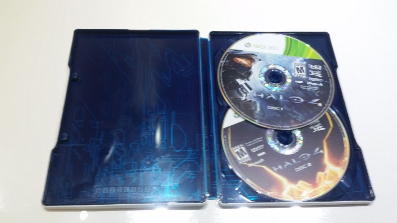 Halo 4: Limited Edition Steelbook Xbox 360