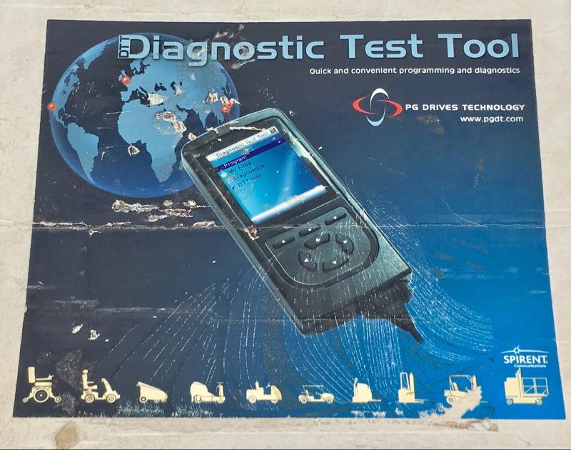 DTT Diagnostic Test Tool PG Drives Programming & Diagnostics