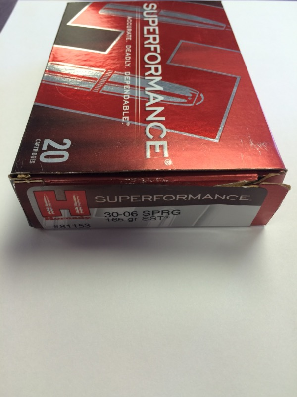 Hornady - Superformance - 30-06 SPRG - 165 gr SST