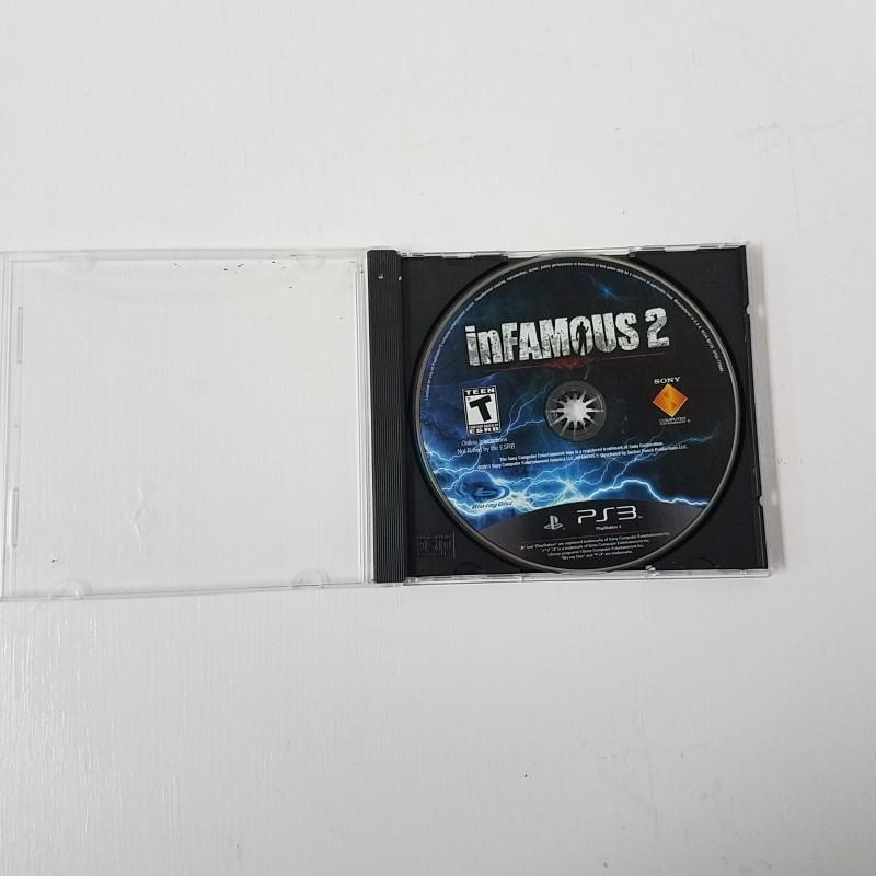 SONY PLAYSTATION 3 INFAMOUS 2 PS3