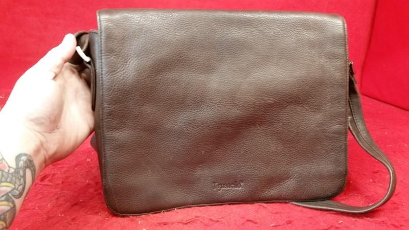 Tignanello Brown Women's Lady Leather Purse / Handbag