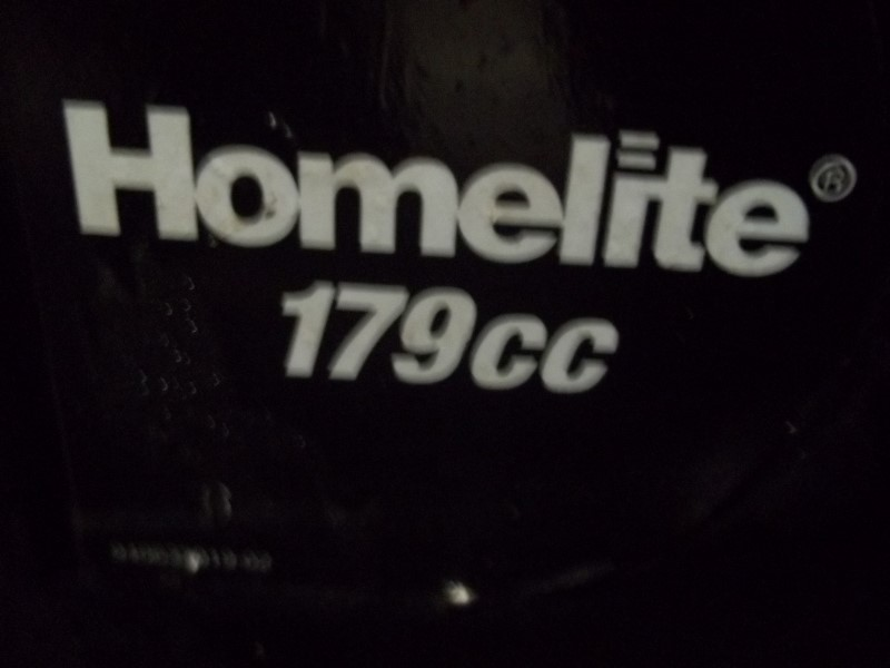 HOMELITE 2700 PRESSURE WASHER