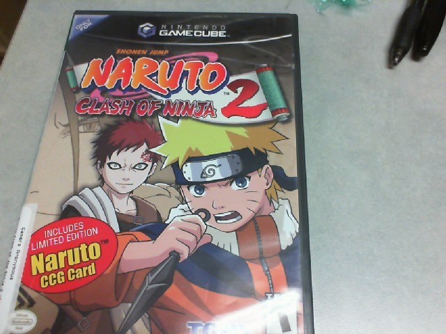 Gamecube Naruto Clash of Ninja 2