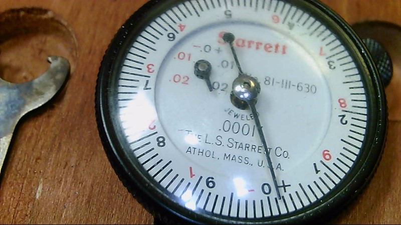 "Starrett 82B .217 - .594"" Dial Bore Gage"