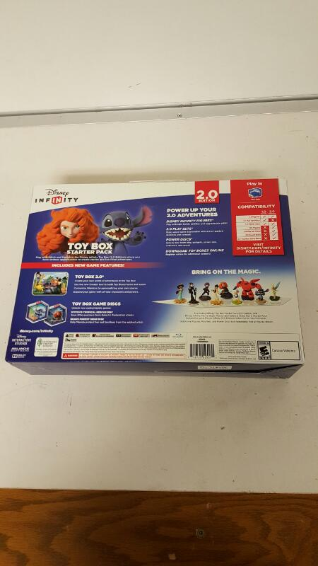 Disney Infinity 2.0: Toy Box Starter Pack (Sony Playstation 3, 2014) NEW SEALED