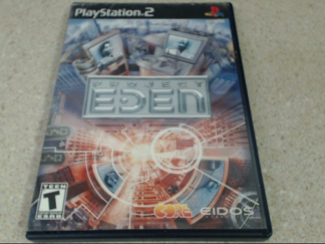 PROJECT EDEN - PS2 GAME