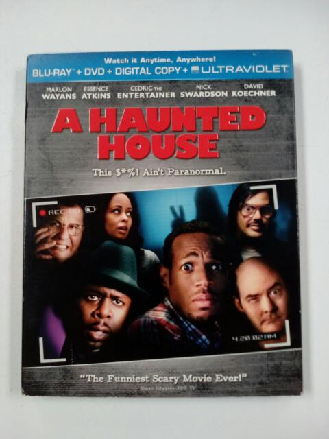 A HAUNTED HOUSE, COMEDY BLU-RAY MOVIE
