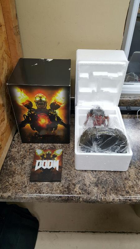 Doom: Collector's Edition (Microsoft Xbox One, 2016)