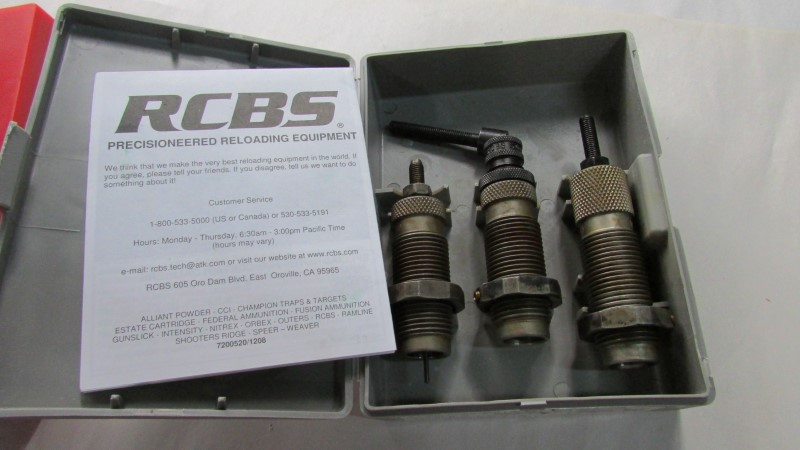 RCBS 3 DIE CARB ROLL/SET .500 S&W/SPL