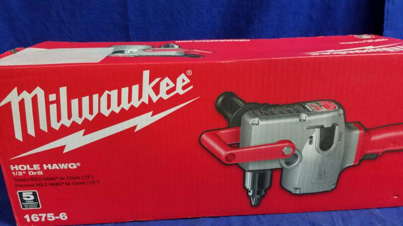 MILWAUKEE HOLE HAWG 1675-6