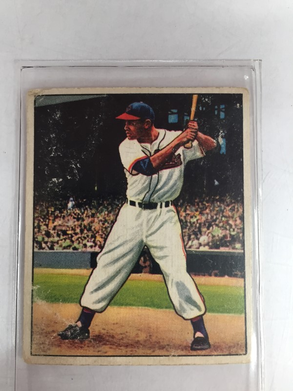 BOWMAN SPORTS 1950 LARRY DOBY BASEBALL CARD