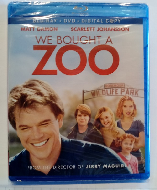 BLU-RAY MOVIE WE BOUGHT A ZOO