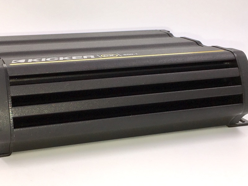 KICKER CX600.1 AMP CAR AUDIO 600W 12V ONE CHANNEL