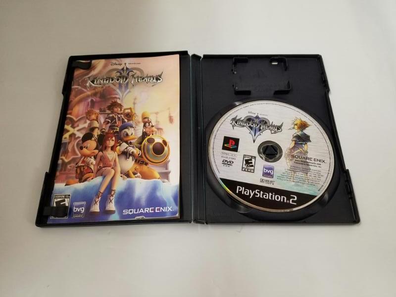 Sony PlayStation 2 Game KINGDOM HEARTS 2 II