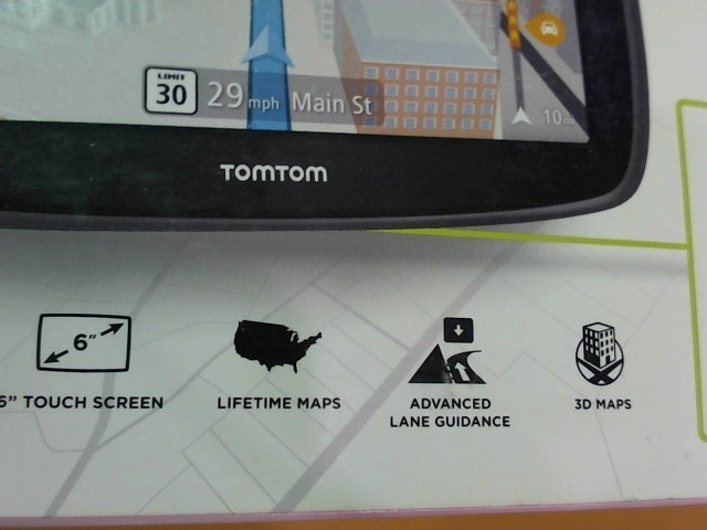 TOMTOM GPS System 4FC64 GO 60 3D