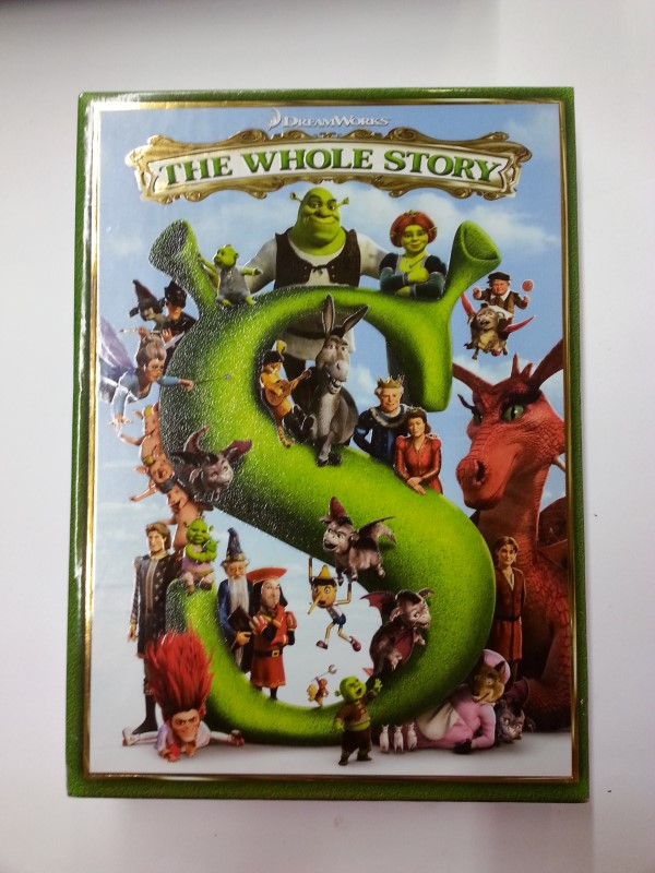 Shrek The Whole Story DVD Set