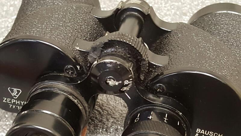 Bausch & Lomb Zephyr 7x35 Binoculars (Serial TG8569)
