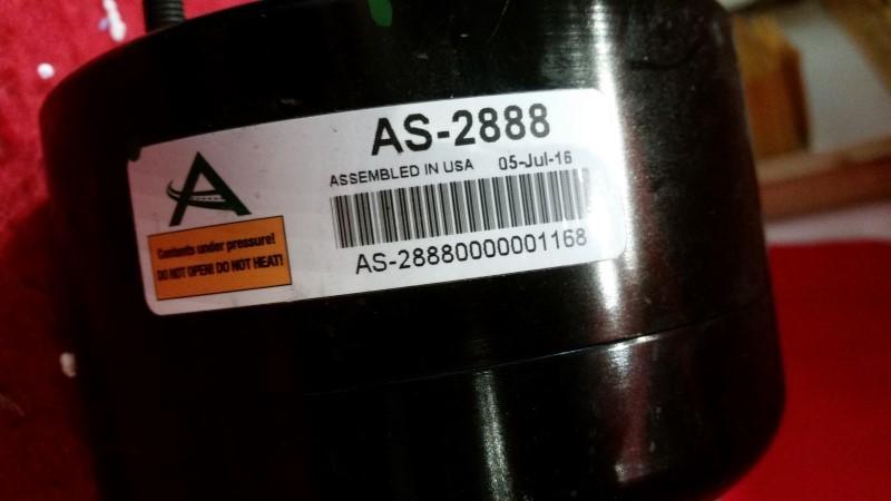 Arnott Front Air Shock Strut Assembly Fits Jaguar Xj Vanden Plas