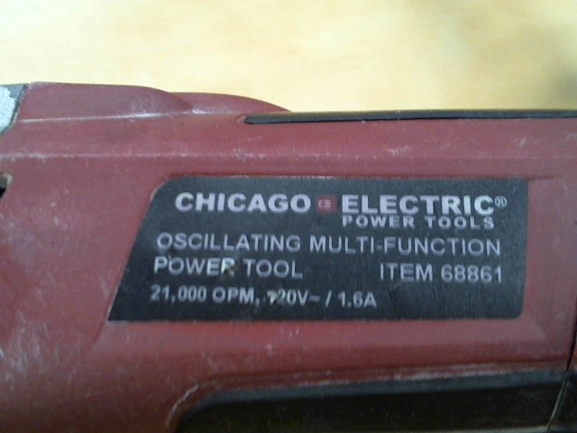 CHICAGO ELECTRIC Disc Grinder 68861