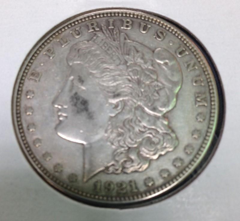 UNITED STATES Silver Coin 1921 MORGAN DOLLAR