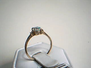 White Stone Gold-Stone Scrap 14K Yellow Gold 1.5g