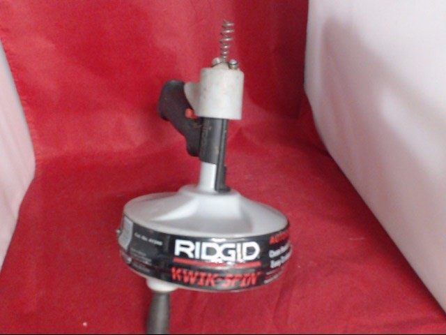 RIDGID TOOLS drain cleaner 41348