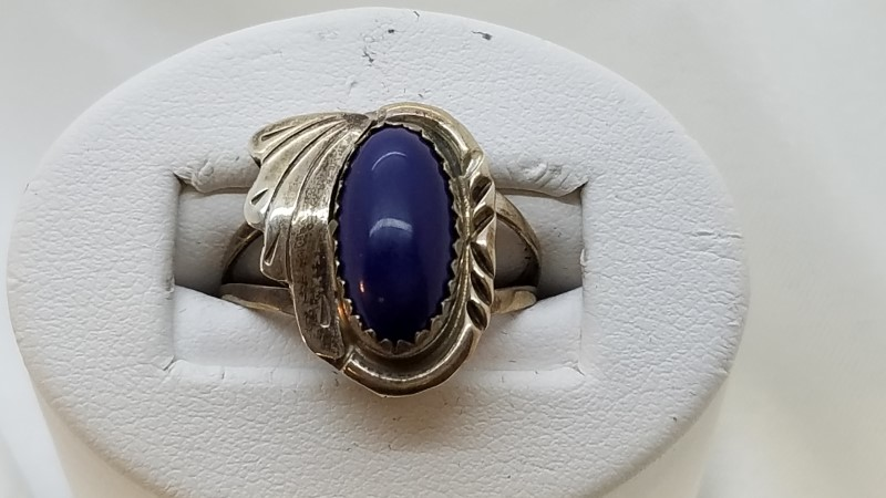 Lady's Silver Ring 925 Silver 3g Size:7.8