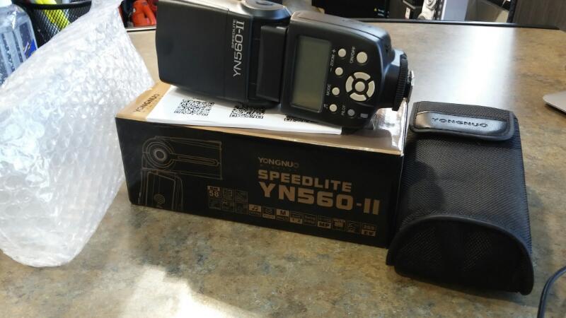 YONGNUO Flash SPEEDLITE YN-560 II