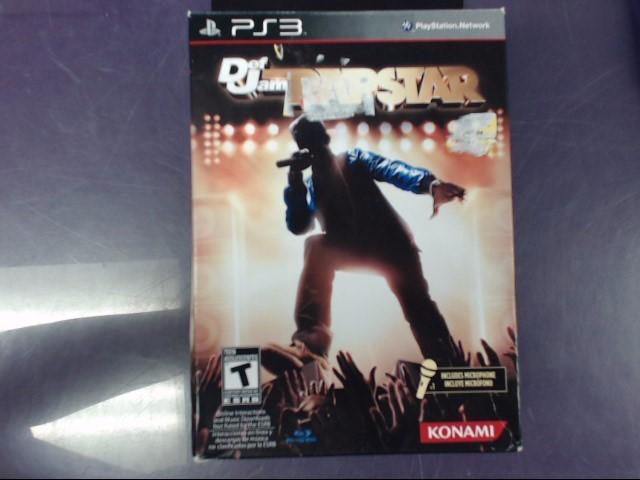 SONY Sony PlayStation 3 Game DEF JAM RAPSTAR