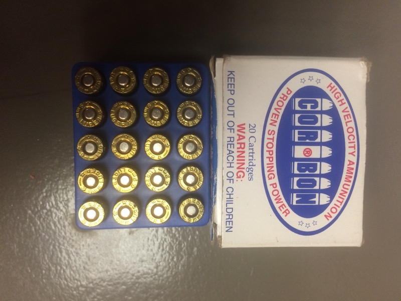 CORBON AMMUNITIONS 9MM 125 GR