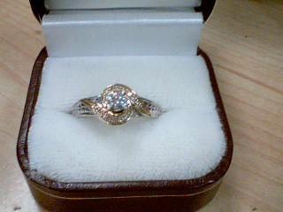 Lady's Diamond Fashion Ring .25 CT. 10K Yellow Gold 3.8g