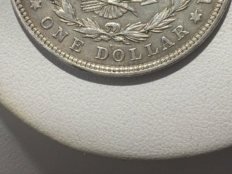 1921-D Morgan Silver Dollar - United States $1 90% Silver Coin -