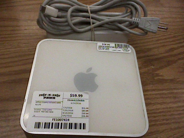APPLE PC Desktop MAC MINI A1176