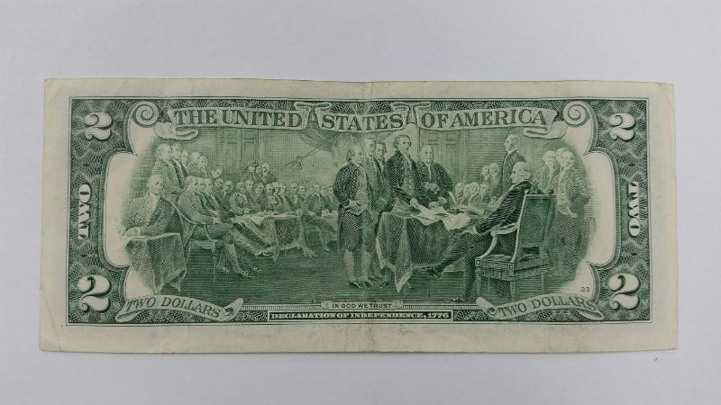 2003 A $2 Two Dollar Bill New York Note