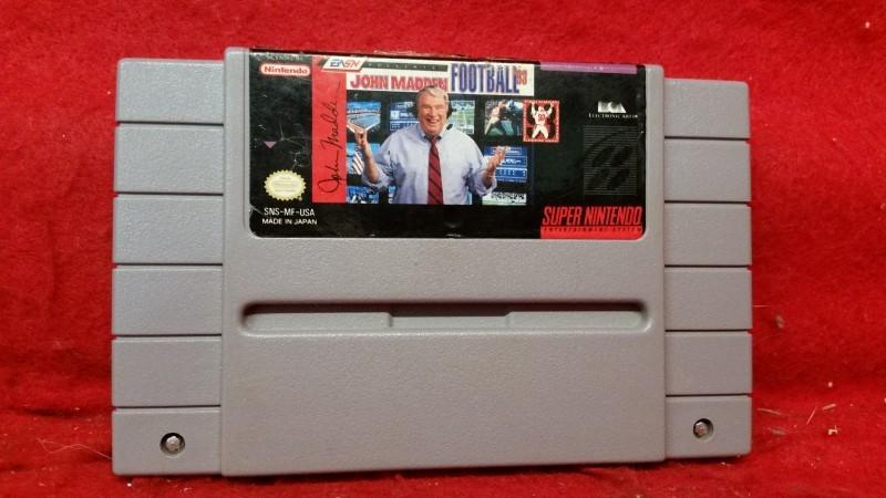 John Madden Football '93 (Super Nintendo)