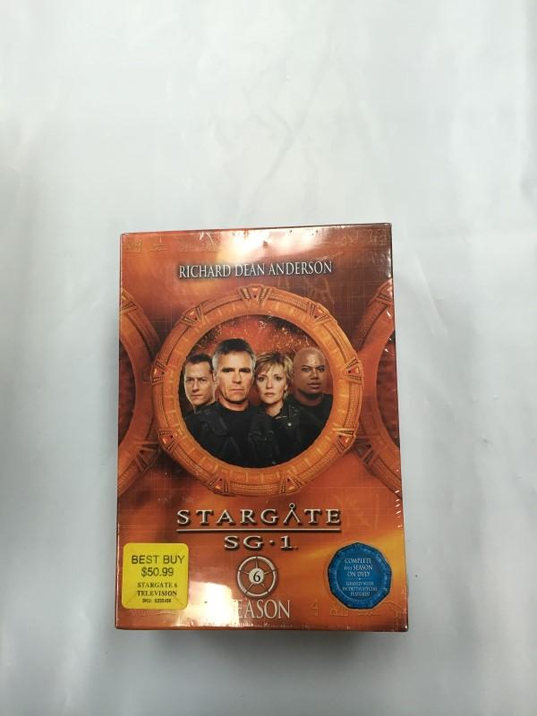 STARGATE SG1 SEASON 4 Dvd Boxset Brand New!!