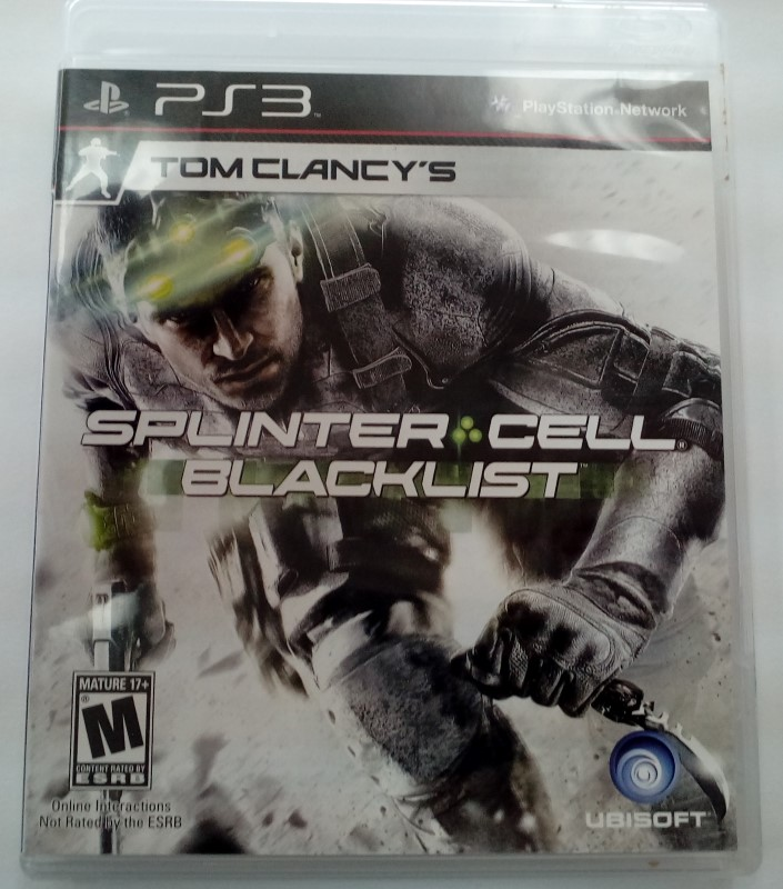 SONY PLAYSTATION 3 GAME PS3 SPLINTER CELL BLACKLIST