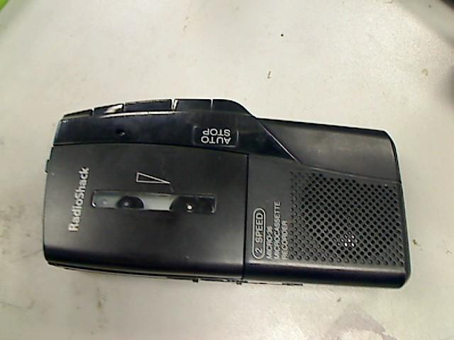 RADIO SHACK Tape Player/Recorder MICRO-33